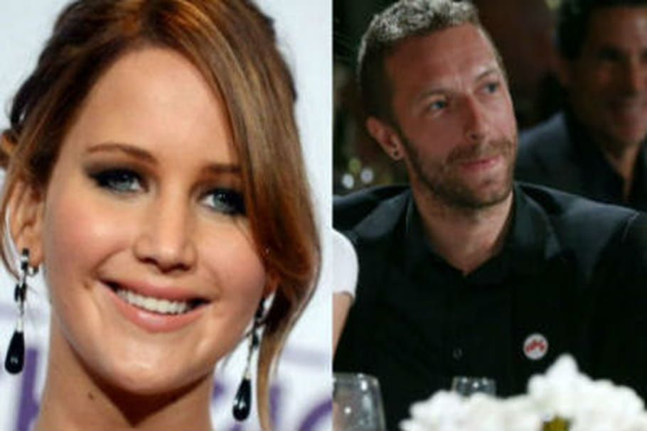 Jennifer Lawrence Chris Martin couple
