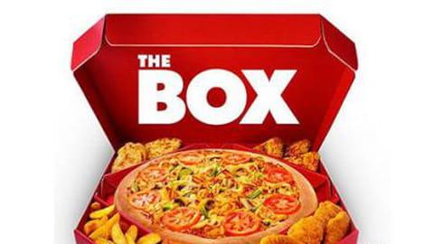 J'ai testé The Box de Pizza Hut