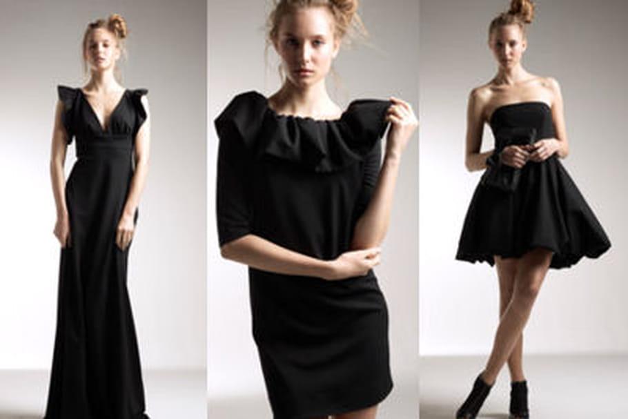 Delphine Manivet imagine des robes du soir pour La Redoute