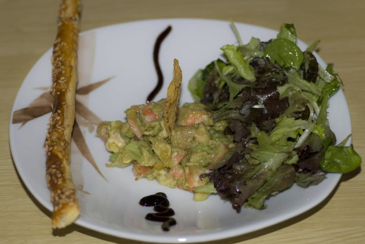 Salade mangue avocat crevette