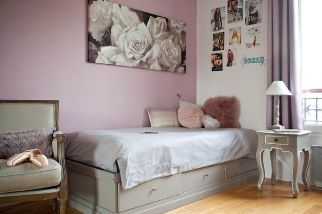 Une chambre tout ce qu'il y a de plus romantique