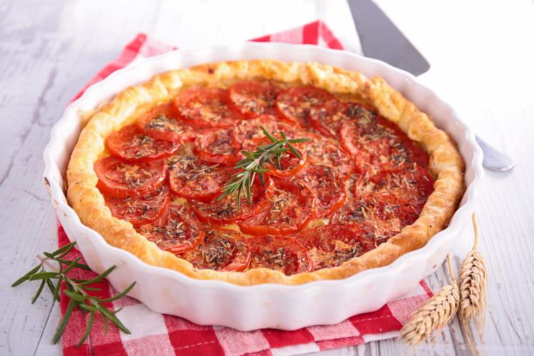 Tarte à la tomate classique