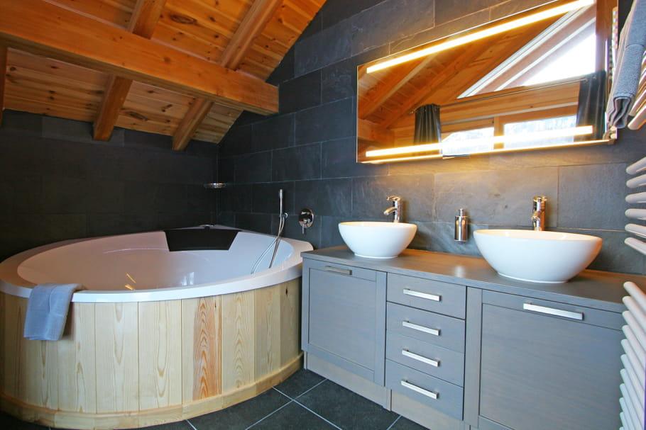 Salle de bains nordique salle de bains et bois un duo for Salle de bain nordique