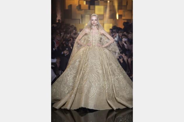 Robe de mariée Elie Saab, somptueuse