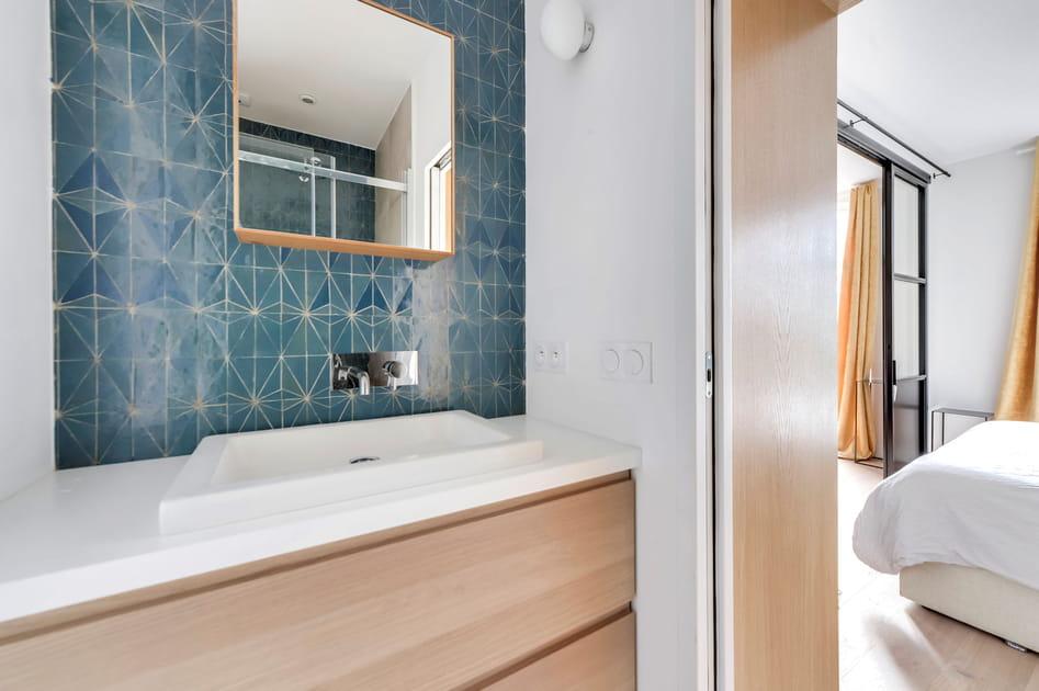 18photos de salle de bains bleue dont s'inspirer