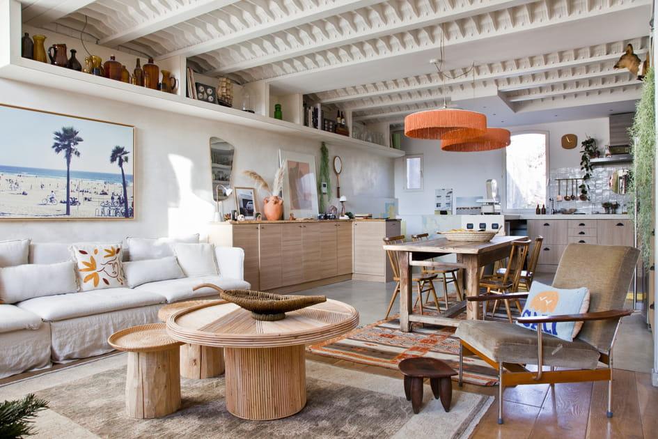 Un salon à l'âme provençale