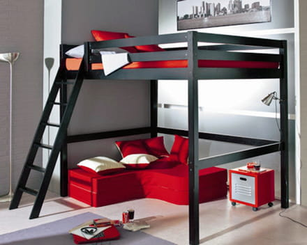mezzanine gain de place assur. Black Bedroom Furniture Sets. Home Design Ideas