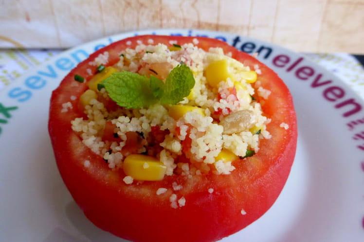 Tomates farcies au taboulé