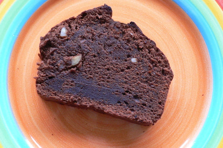 Moelleux chocolat noisettes et beurre de cacahuètes