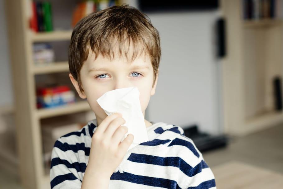 Les enfants, premières victimes des allergies