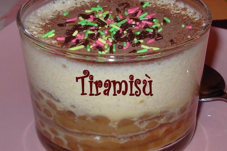 Tiramisù poire-chocolat
