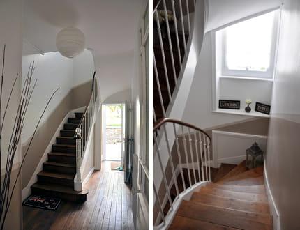escalier tout en sobri t. Black Bedroom Furniture Sets. Home Design Ideas