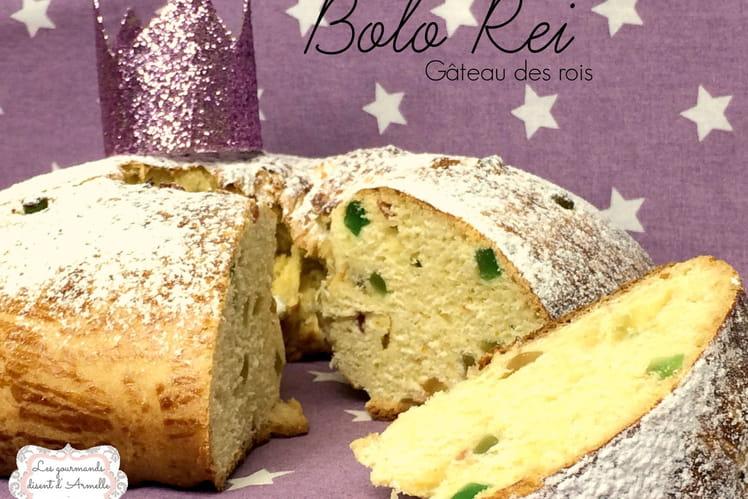 Gâteau des rois brioché Bolo Rei