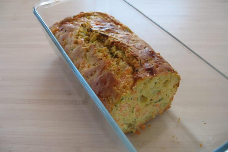 Cake saumon fumé-courgettes