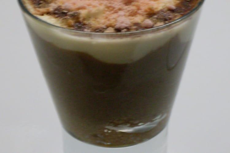 Tiramisu au chocolat en verrine