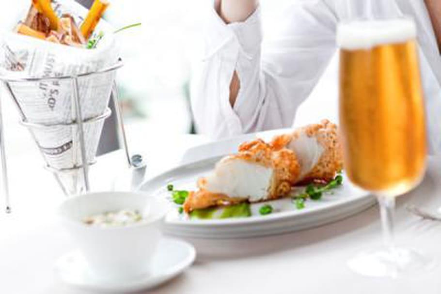 JO de Londres : une table parisienne revisite le fish n'chips
