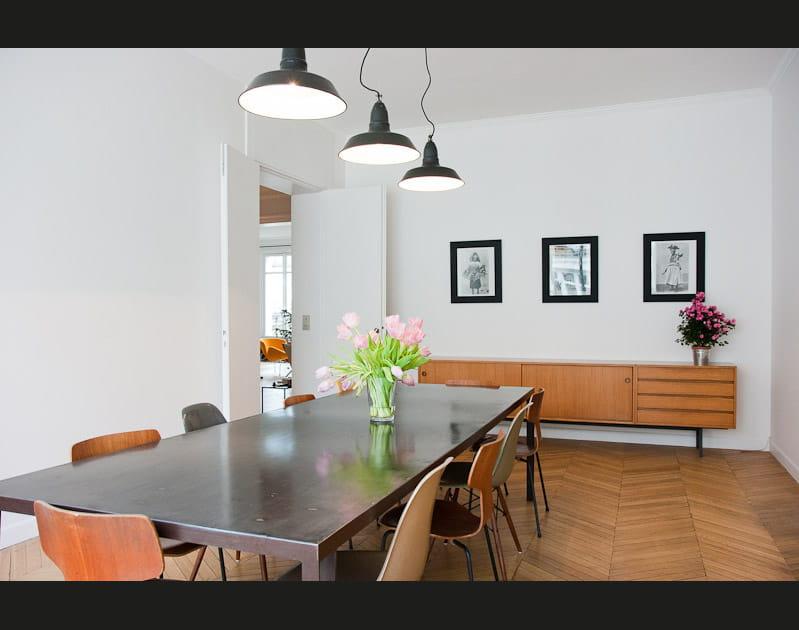 Une salle à manger à l'esprit vintage