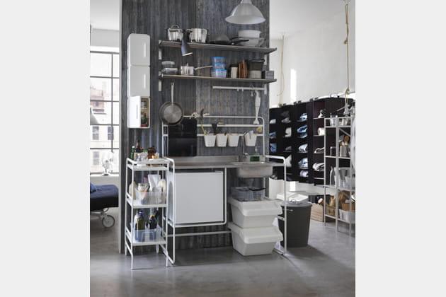 Mini-cuisine nomade Sunnersta par Ikea
