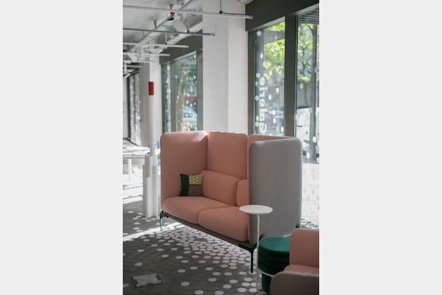 Canapé Cast de l'Incubateur Via Design