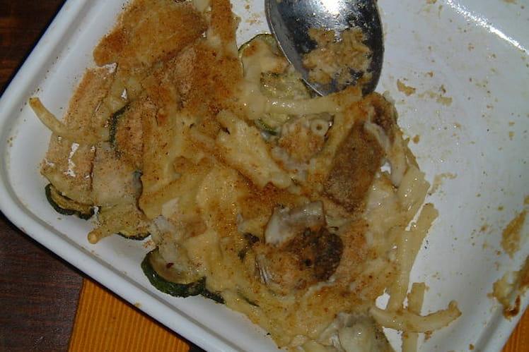 Gratin de poisson aux pâtes