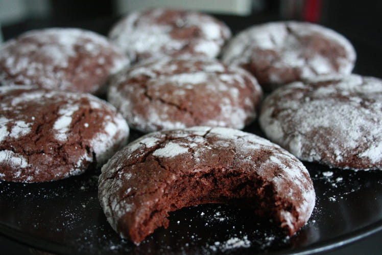 Biscuits Chocolate crinkles
