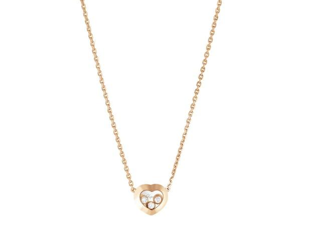 "Collier ""Happy Diamonds"" avec pendentif coeur de Chopard"