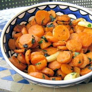 salade de carotte à la marocaine