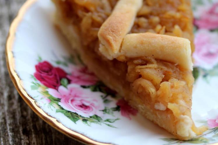 Szarlotka - Gâteau aux pommes