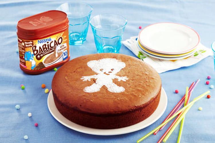Baby-gâteau au chocolat
