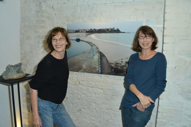 Jane Birkin et sa fille Kate Barry, 2012