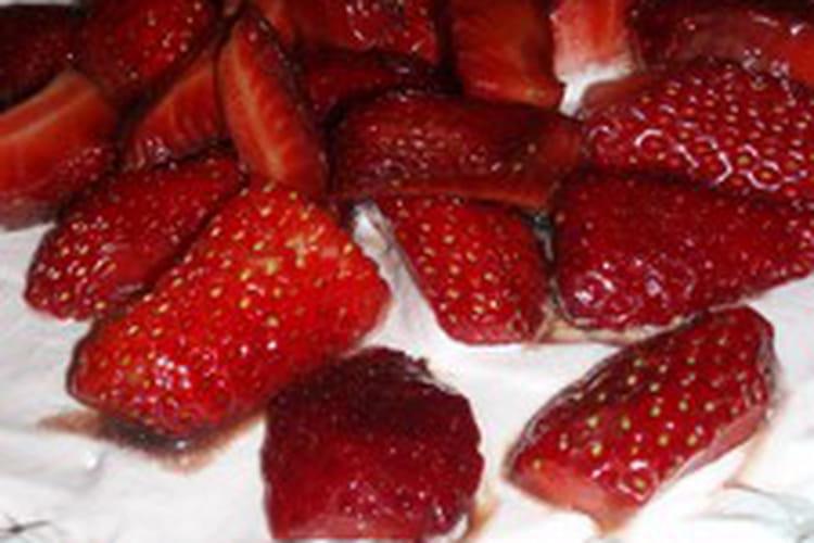 Délice aux fruits rouges