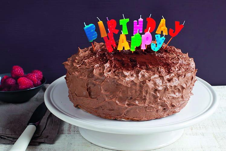 Gâteau d'anniversaire au CACOLAC
