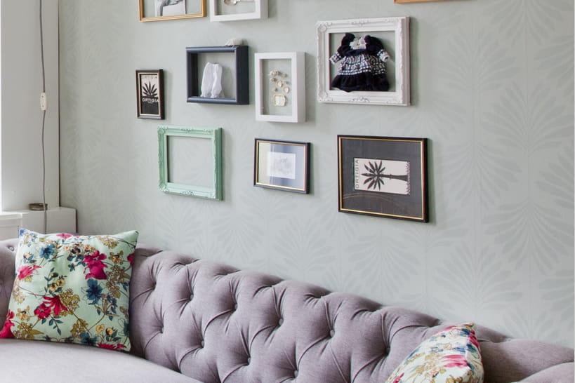 21idées pour décorer le mur au-dessus du canapé