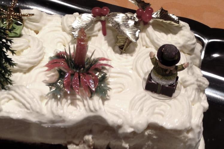 Cheesecake nappé de chantilly