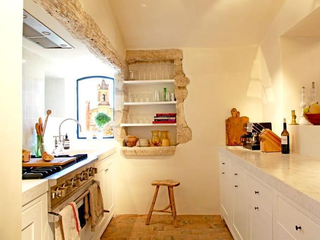 La cuisine en double i en image for Cuisines encastrees