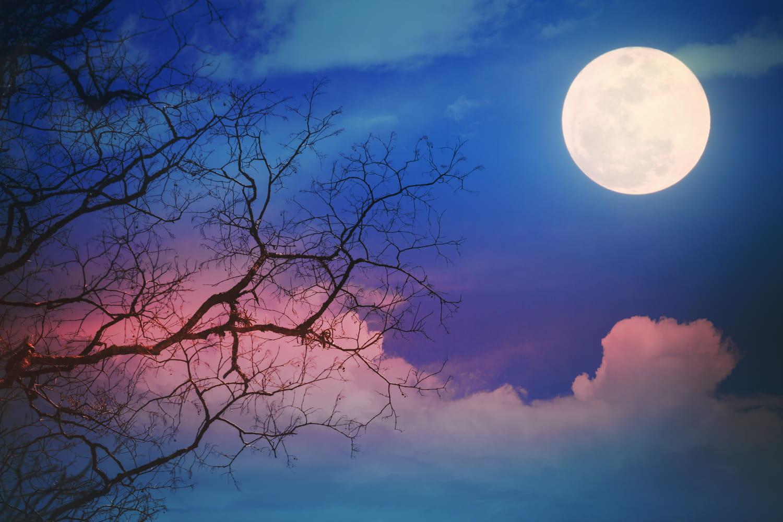Pleine lune bleue: quels sont les effets de ce phénomène rare?