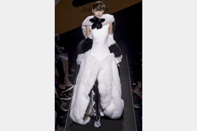 Robe de mariée Fendi, originale