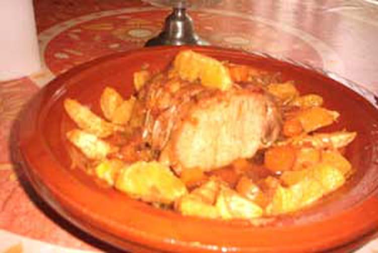 Recette de roti de porc la liqueur d 39 orange la recette - Cuisiner roti de porc ...