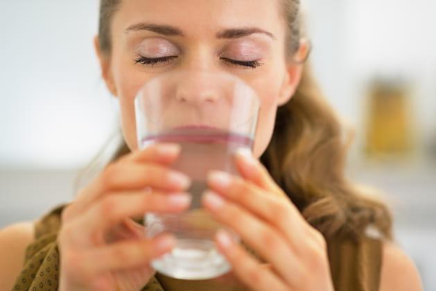 Buvez au moins 1,5L d'eau par jour