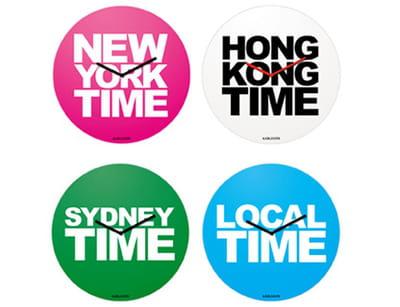 horloges 'travel time' dekarlsson