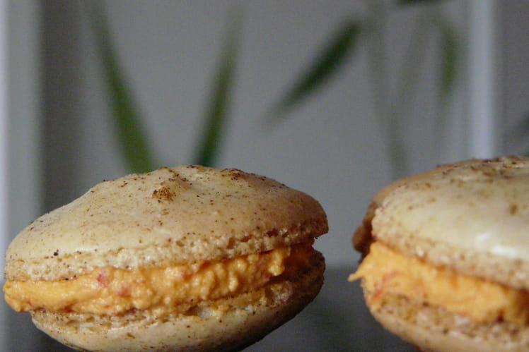 Macarons Poivrons chèvre