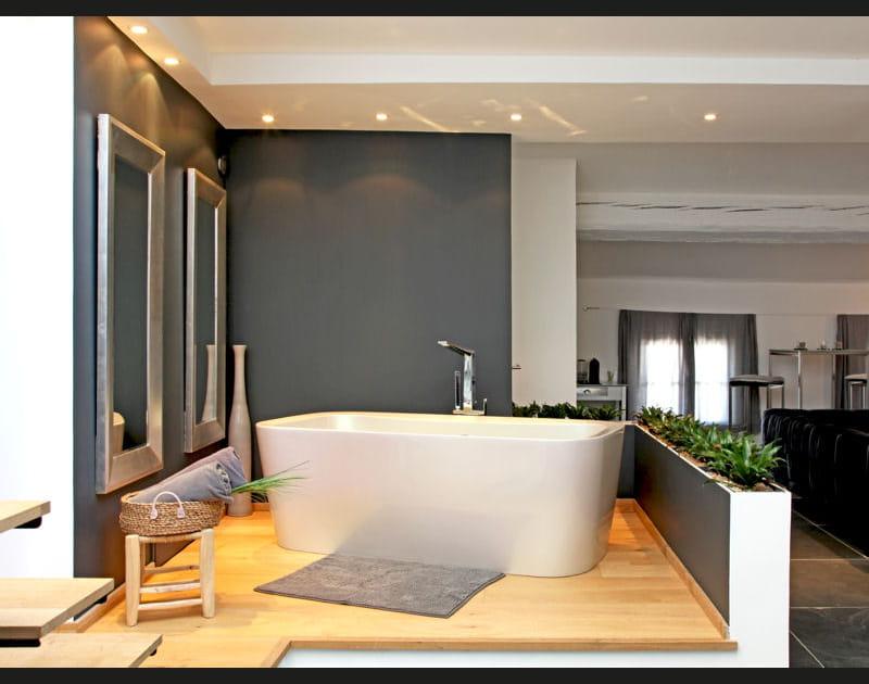 Salle de bains surelevée