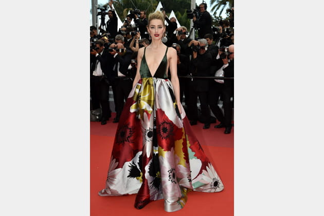 Amber Heard en Maison Valentino