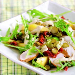 salade poulet mangue