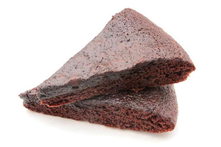 Fondant au chocolat et praline