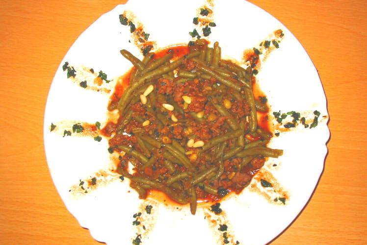 Soleil de verdure à la bolognaise