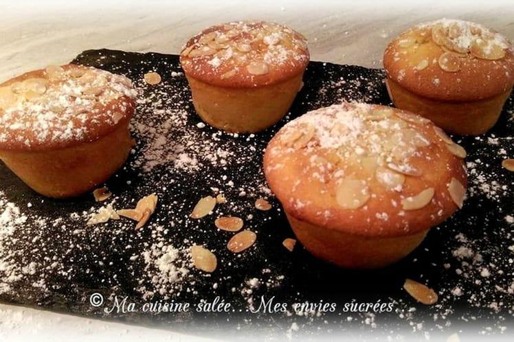 Muffins au coeur d'orange, cannelle et vanille
