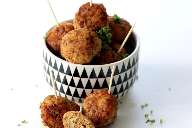 Boulettes de Poulet, Carotte et Quinoa
