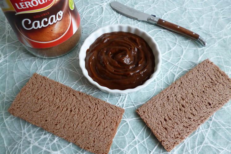 Tartinade allégée chicorée et cacao, végan