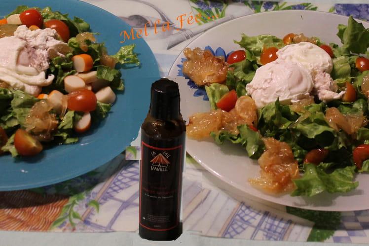 Salade fraîcheur au pamplemousse